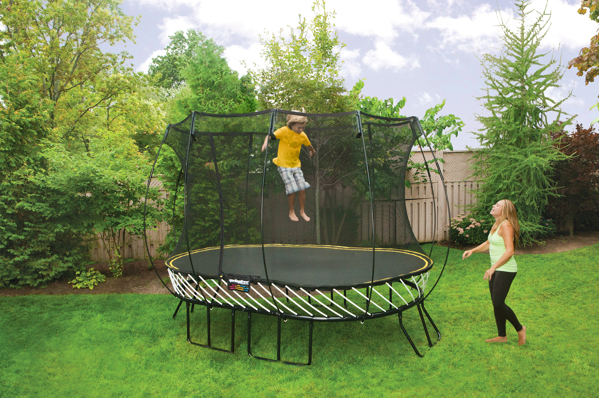 nw kids is giving away a springfree trampoline the world u0027s safest