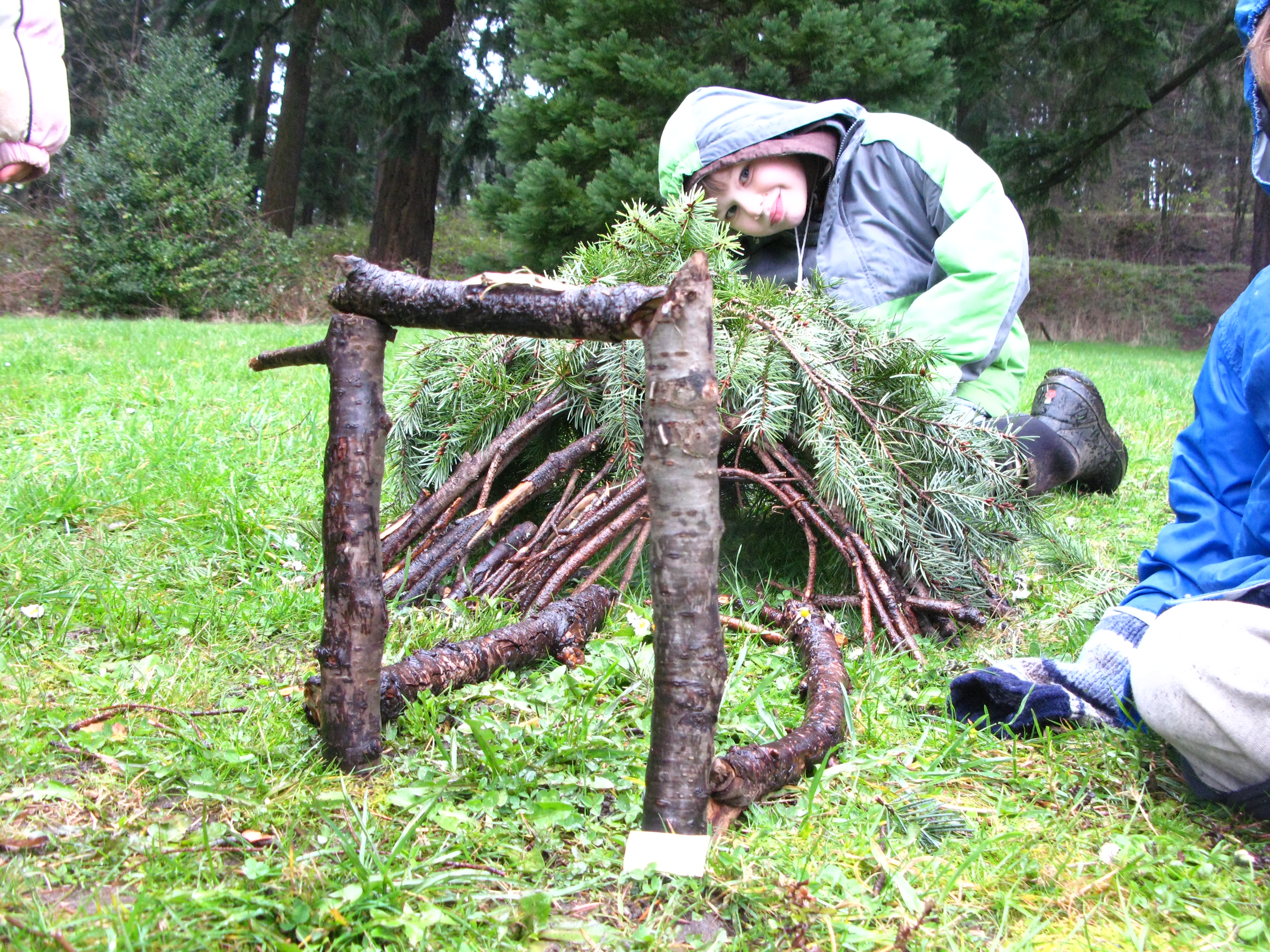 Fun things to do with kids build a fairy house nw kids - Things to know when building a house ...