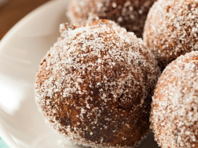 In The Kitchen: Homemade Spiced Pumpkin Doughnut Holes