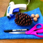 Holiday Craft: Pinecone Elf Ornament