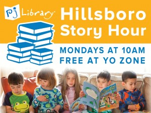 PJ Library Story Hour in Hillsboro @ Yo Zone |  |  |