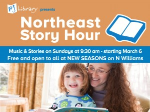 PJ Library Story Hour in NE Portland @ New Seasons Market  | Portland | Oregon | United States
