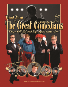 "THE GREAT COMEDIANS"" THOSE 'FELT HAT AND BIG CIGAR' FUNNY MEN @ All American Magic Theater 