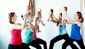 Mommy & me yoga class ( Free Preview) series starts following week @ St Johns Swapnplay | Portland | Oregon | United States