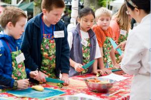 Kids Cook- Veggie Sushi @  PSU Portland Farmers Market |  |  |