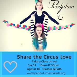 Share the Circus Love @ French American International School  | Portland | Oregon | United States