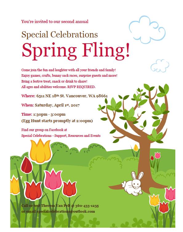 Special Celebrations Spring Fling