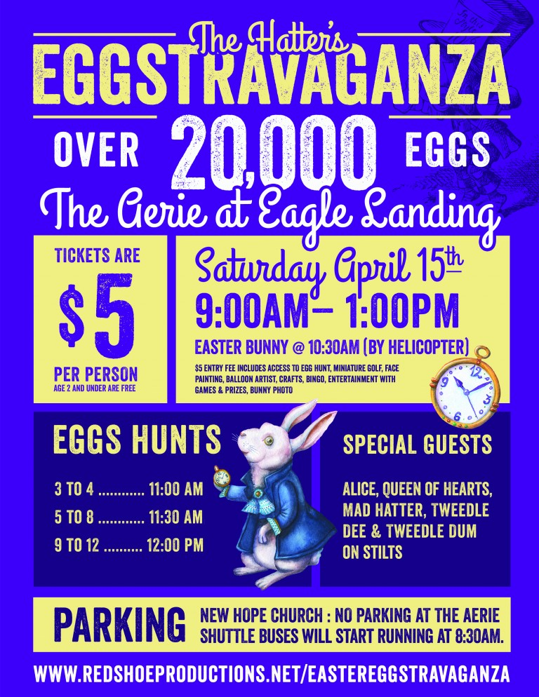 The Hatters Eggstravaganza