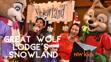 great wolf lodge's snowland