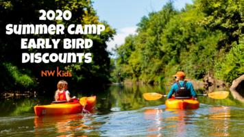 2020 Summer Camp Early Bird Discounts